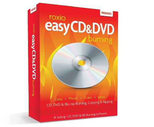 Roxio Easy CD and DVD Burning [PC Disc] (Burning Dvd Software)