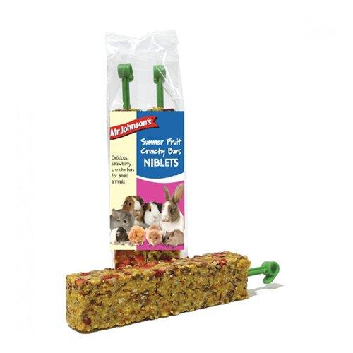 Mr Johnson's Crunchy Bars - Summer Fruit