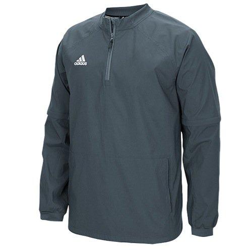 adidas Mens Fielder's Choice Convertible Jacket, Onix Grey/Onix Grey, Large