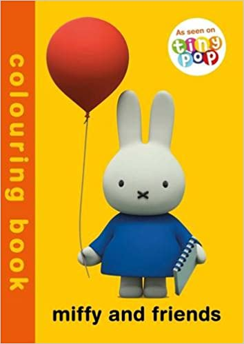 Miffy and Friends Colouring Book: Simon & Schuster UK: 9781471163302 ...