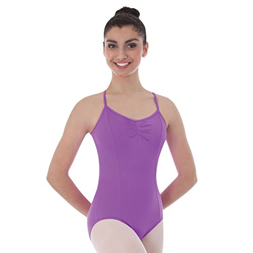 Body Wrappers BWP225 Womens BWProWear Camisole Princess Seam Ballet Cut Leotard (XS, White)