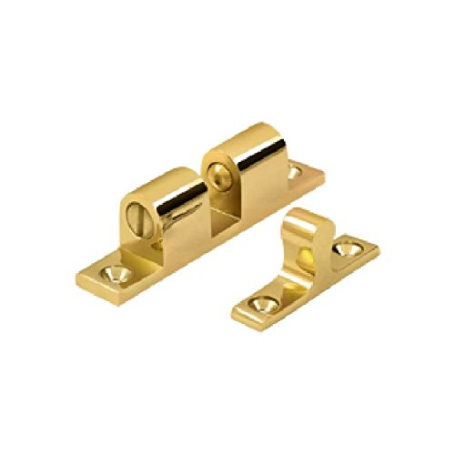 Deltana BTC20CR003 Solid Brass 2.3-Inch x 0.4-Inch Ball Tension Catch