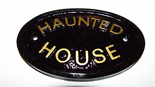 Haunted House Door Plaque Wall Sign (Haunted Houses Ideas)
