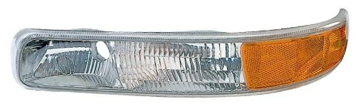 Suburban Parking Light (Depo 332-1678L-US Chevrolet Driver Side Replacement Parking/Signal Light Unit)