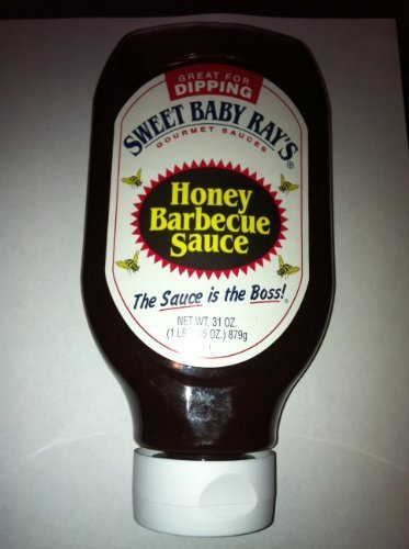 Sweet Baby Ray's Honey Barbecue Sauce, Squeeze Bottle 31 Oz (1lbs. 15 (31 Oz Bottle)