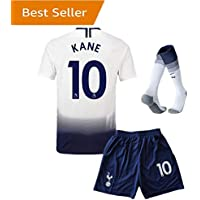 Tottenham Hotspur #10 Kane Home Kids and Youth Soccer...