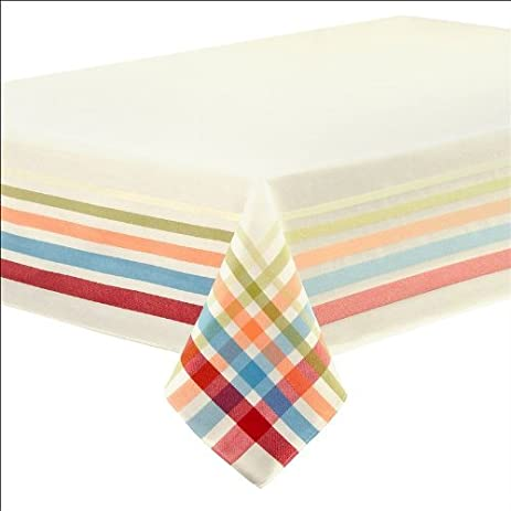 Exceptionnel Fiestaware Table Linens, Classic Plaid 60 X 102 Tablecloth By U0026quot;Fiestaware  Table Linens