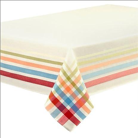 Fiestaware Table Linens, Classic Plaid 60 X 102 Tablecloth By  U0026quot;Fiestaware Table Linens