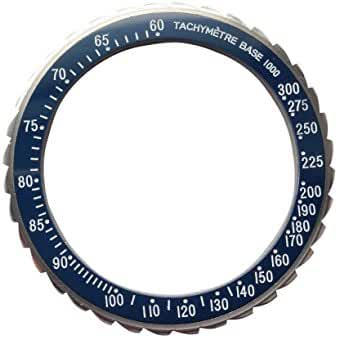 Bezel for Watches Vostok Amphibia Ceramic Insert (Speedmaster Blue (Dragon Tail)) (8)