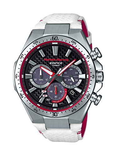 Casio Edifice Limited Edition Honda Racing White and Red Watch ()