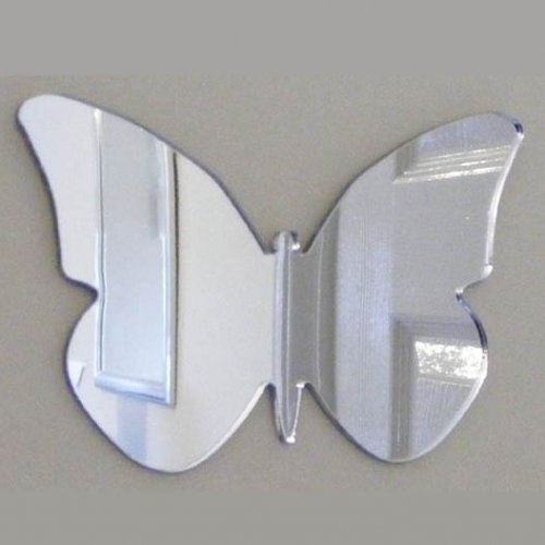 Butterfly Big Wings Mirror 20cm X 14cm (Acrylic 3mm safety mirror)