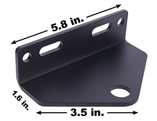 Noa Store Universal Zero Turn Mower Trailer Hitch 5 Inch Heavy Duty Steel