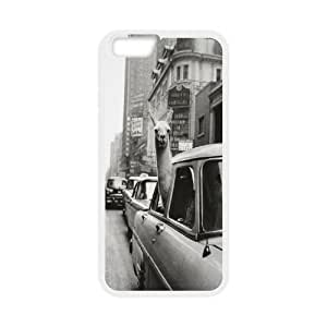 "Custom Alpaca Cover Case, Custom Hard Back Phone Case for iPhone6 Plus 5.5"" Alpaca"