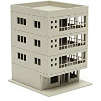 New Outland Models Railway Modern 4-Story Office Building Unpainted 1:160 FOR GUNDAM By KTOY