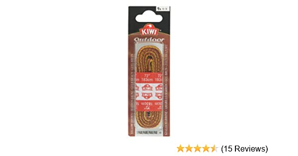 4 Pack Kiwi Outdoor Laces 45 in Round Gold//Brown