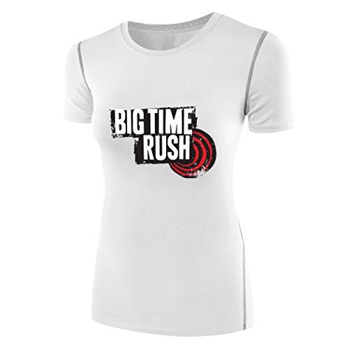 - Sysuer Lady Music Band Big Time Rush Logo Under Wear Tshirt Tees