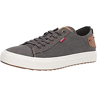 Levi's Shoes Neil LO 501 DNM UL NB Charcoal/Tan 9.5