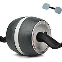 Fitness AB Pro Perfect Carver Workout Abdominal Exercise Roller Wheel New Core White