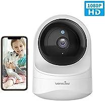 WLAN IP Kamera, Wansview Überwachungskamera WiFi 1080P für Baby, Ältere, Haustiere Monitor mit Bewegungserkennung,...