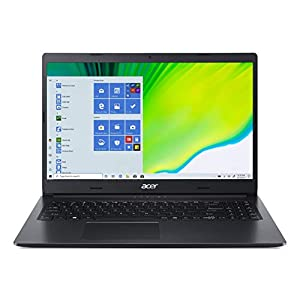 Acer Aspire 3 Intel Core i5-1035G1 15.6″ FHD Display Thin and Light Laptop (8GB Ram/1TB HDD/Windows 10 Home/Nvidia MX 330 Graphics), Charcoal Black/1.9kg), A315-57G