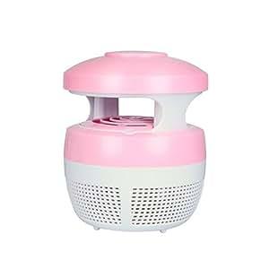 Electronic insectos mosquitos Killer lámpara, amhousejoy electrónicos Luz LED de Zapper mosquito y la mosca trampa con ventilador y luz de noche lámpara eliminador de insectos, no químicos, Ultra bajo ruido, olor libre