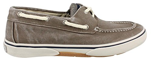 Sperry Top-Sider Men's Halyard 2-Eye Lace-Up,Chocolate/Honey,9.5 M (Distressed Canvas Slip Ons Shoe)