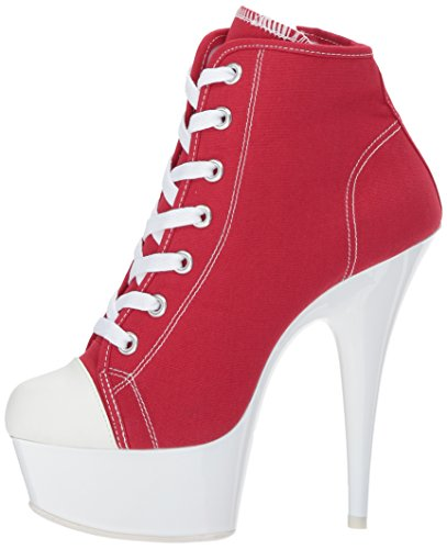02 Delight White 600sk Canvas Red Pleaser neon qTxza6F7w
