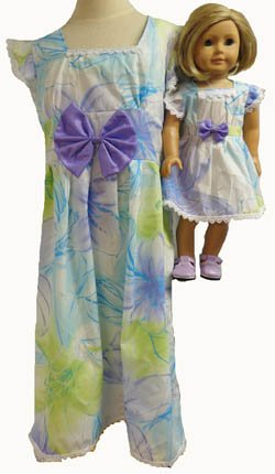 Girl Pastel and Doll Doll Matching Clothes Pastel Dress Size Size 8 B00YNKAV9S, HOKULEA HAWAII:f81e7e31 --- arvoreazul.com.br