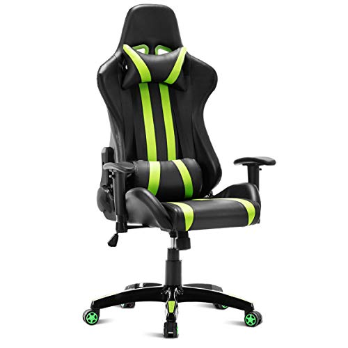 Executive Racing Style High Back Reclining Chair Gaming Chair Office Computer with Ebook