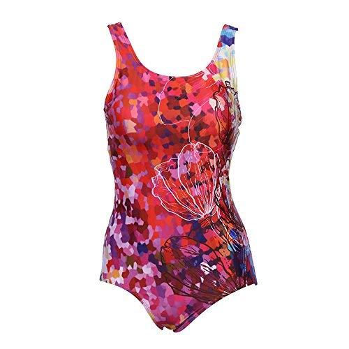 Bagno M Intero Unica Mostrato colore Da Dimensione Costume Come Trendy Qiusa Rosso Mostrato Taglia qBYEw