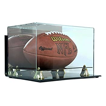 Image of Deluxe Acrylic Football Display Case - Wall Mountable Display Cases
