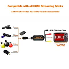 1080P HDMI to RCA Adapter