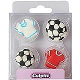 Football & Shirt Sugar Decorations - 12 Pack