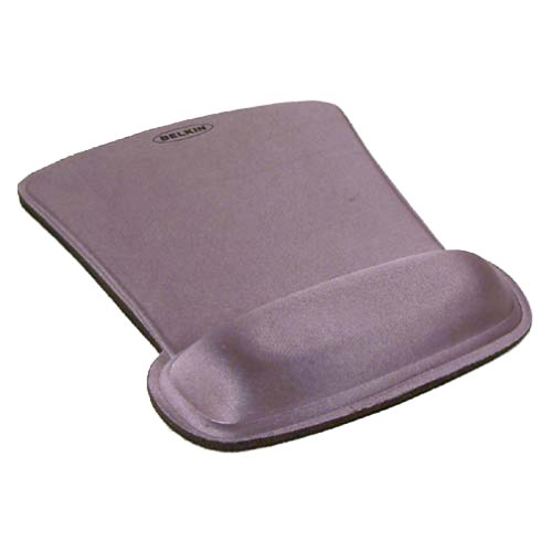 Belkin WaveRest Gel Mouse Pad (Silver) (Best Wrist Position For Mouse)