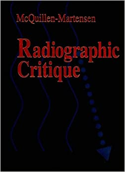 Radiographic Critique