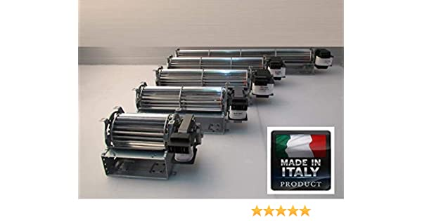 Ventilador tangencial DN 60 ventilador 24 cm DX: Amazon.es: Hogar