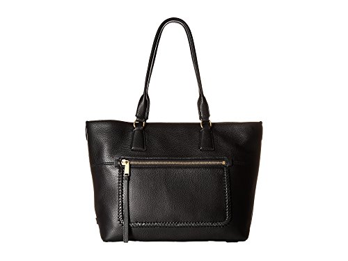 - Cole Haan Women's Celia Medium Zip Top Tote Black One Size