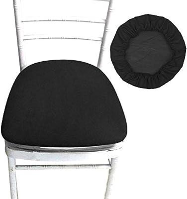 cuscino sedia nero elastico