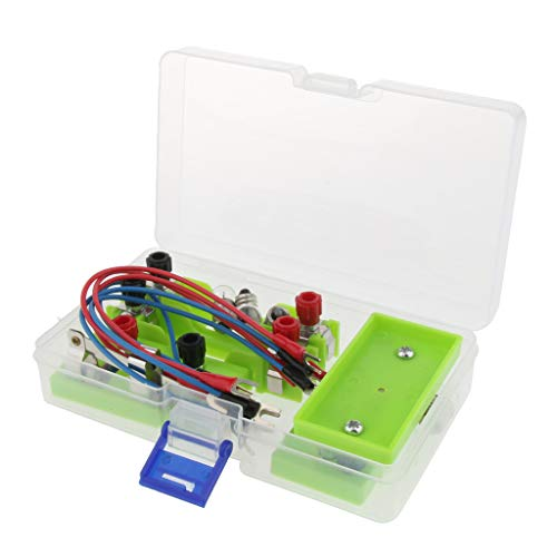 B Blesiya Single Pole Single Throw SPST Switch Physics Experiment Equipment Can Form Series/Parallel Circuit and Used in Teaching and Learning ()