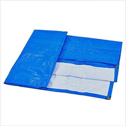 ZfgG Lona Impermeable Envuelta, Lona de Bronceado, Bronceado, Bronceado, Liviana y fácil de Plegar, Cobertura Exterior, 2m ~ 10m, Azul Una Variedad de tamaños de Lona están Disponibles (Tamaño : 5m x 6m) 8fe5a5