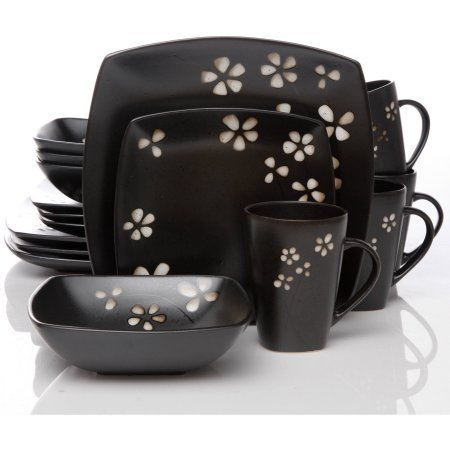 Hometrends Sylvan Springs 32-Piece Dinnerware Value Bundle by hometrends
