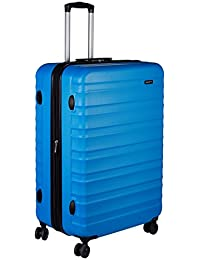 AmazonBasics, Maleta Hardside Spinner, 28 Pulgadas, Azul Claro