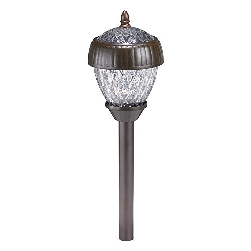 Acorn 2-Light Pathway Solar Light Set (6-Pack)