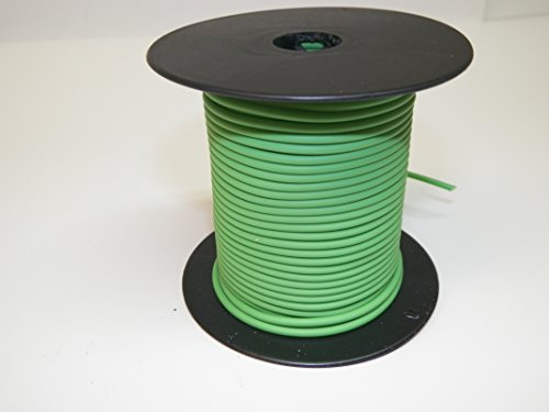 - Light Green, 18 GA Gauge AWG GXL Wire, 100' Spool, For Automotive, Truck, Motorcycle, RV. General Purpose Copper .94 O.D. Abrasion Resistance, High Heat