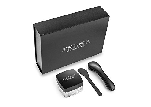 Amour Noir Cosmetics Magnetic Face Mask, Incredible Ingredients Such As, Vitamin C, Collagen, Jojoba Oil and Bees Wax Plus Many More, Skin Rejuvenating, Anti-Aging Skin Care. Amour Group