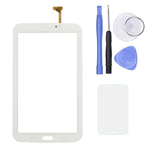 SPHENEL Digitizer Touch Screen for Samsung Galaxy Tab 3 7.0 T210 P3210 T217 (Digitizer Without Ear Speaker Hole-White)