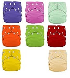 Fuzzi Bunz One Size Diaper Package 9 Pack Girl Color