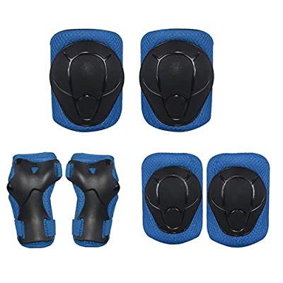 caselast Kids Protective Gear Set Knee Pads for Kids Toddler Knee and Elbow Pads with Wrist Guards 3 in 1, for Roller Skates Cycling Bike Skateboard Inline Skatings Scooter Riding Sports.: Home & Kitchen
