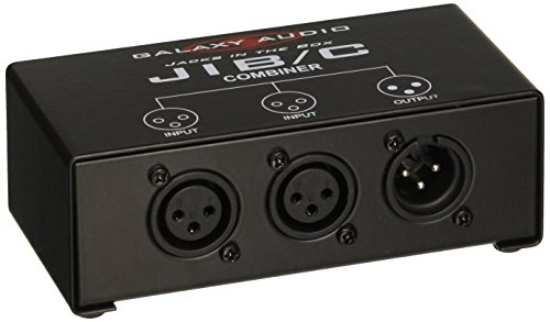 Galaxy Audio JIBC XLR Combiner (Xlr Splitter Box)