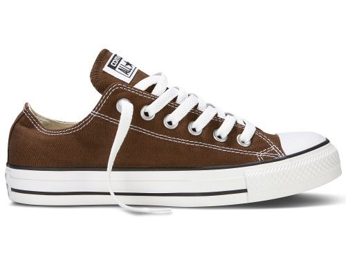 Converse Chuck Taylor All Star - Zapatos de lona, unisex Marron / Chocolat